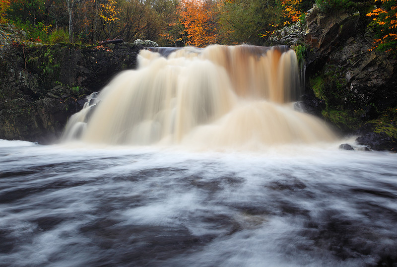 Frontal Flow - Peterson Falls (Iron County - Wisconsin)