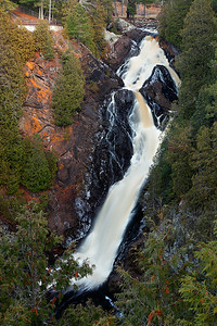 Ruined - Big Manitou Falls (Pattison State Park - Wisconsin)