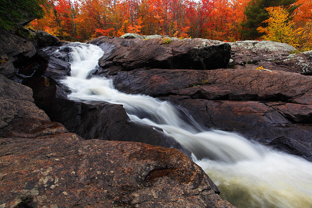 Ablaze - Foster Falls (Iron County - Wisconsin)