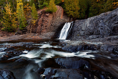 Volcanic Fall - Upper Potato River Falls (Iron County - Wisconsin)