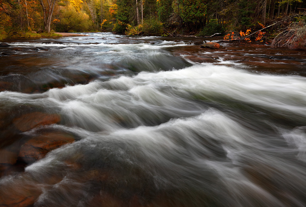 Autumn Awash - Mays Ledges (Brule River - Brule River State Forest)