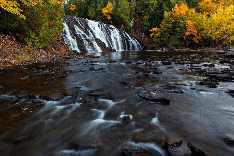 Autumn Depths - Lower Potato River Falls (Iron County - Wisconsin)