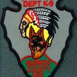 BARRON COUNTY K-9