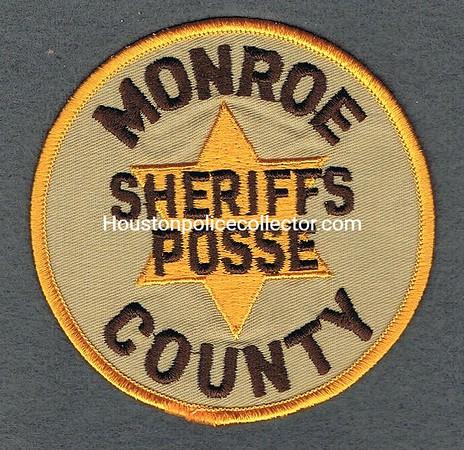 MONROE COUNTY POSSE