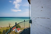 View from the top of the Wind Point Lighthouse tower. Racine, WI<br /> <br /> WI-180805-0042