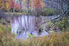 WI 158<br /> <br /> Autumn colors encircle a small bog along a county road in northern Wisconsin,