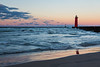 Waves and Kenosha Pier
