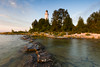 Morning light at Cana Island. Cana Island, WI<br /> <br /> WI-080901-0033
