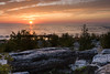 Cana Island sunrise. Cana Island, WI<br /> <br /> WI-080901-0010