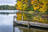 WI 166<br /> <br /> A calm autumn morning on a quiet northern Wisconsin lake in early October.