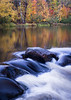 WI 156<br /> <br /> The Manitowish River flows through a landscape of autumn colors in the Northwoods of northern Wisconsin, USA.