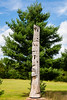 Hayward, WI - Totem Pole - Indian Monument Sculpture by Peter Toth