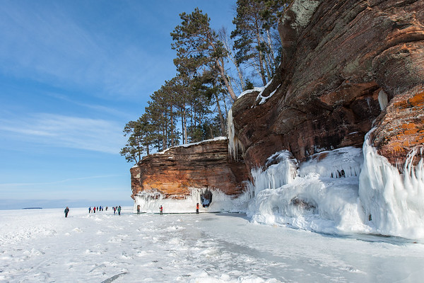 Lake Superior Ice Caves, Apostle Islands National Lakeshore