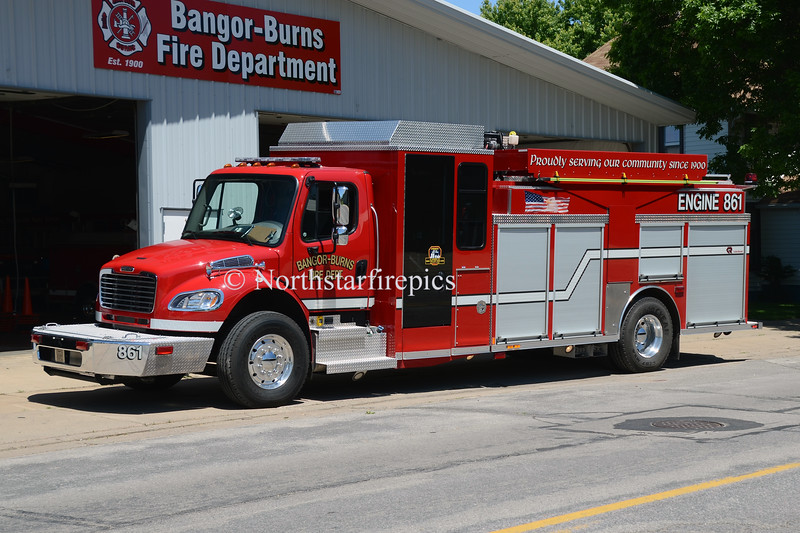 Bangor Burns  E-861 0155