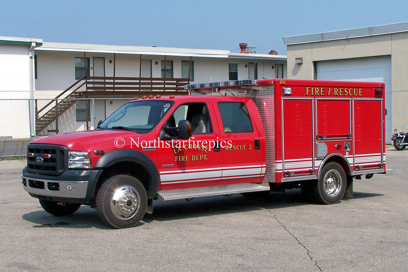 La Crosse R-2<br /> 2005 Ford F550/Pierce