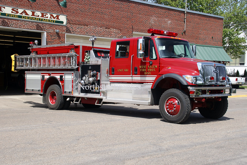 West Salem E-661 <br /> 2004 International 7400/Pierce 1250/750/35<br /> All Wheel Drive Chassis