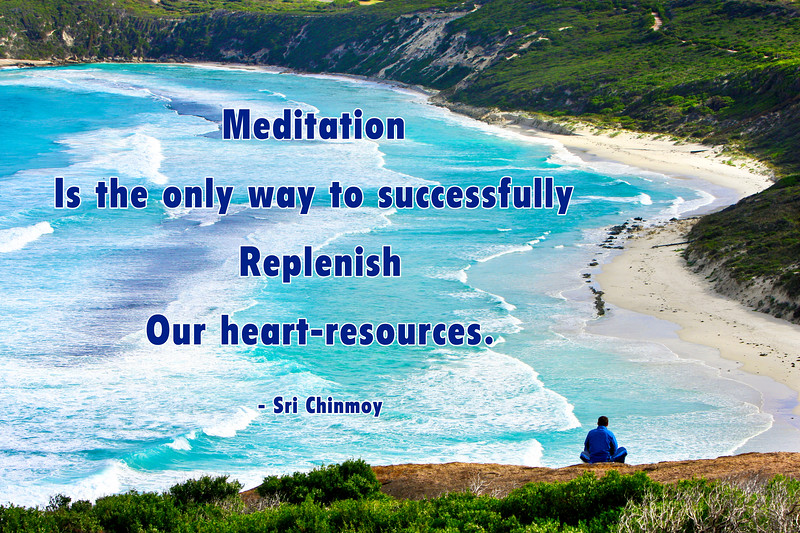s-9  meditation is the only-4