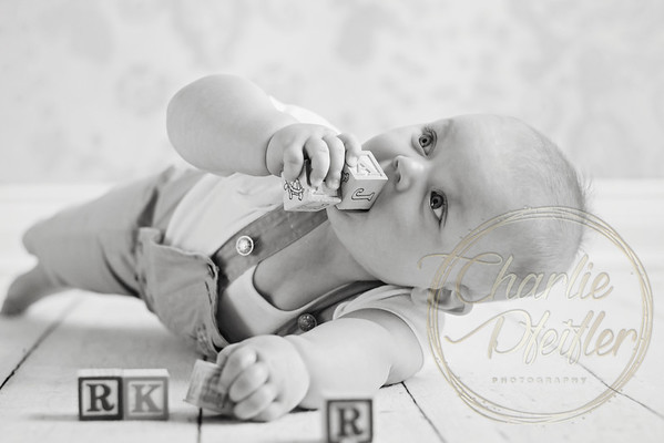 Parker 7 month - 055bw