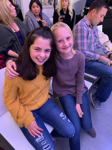 From left, Rylee Azar and Charlotte Wren of Acton