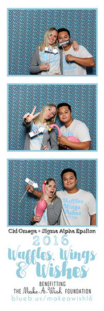Snapping photos @ the Chi Omega + Sigma Alpha Epsilon Waffles, Wings & Wishes event!  Looking for an awesome photo booth for you next event? Check out bluebuscreatives.com for more info. We offer discounts for Greek events!