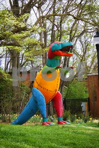 P1100338 Tyrannosaurus in the Garden Mar 31 2016