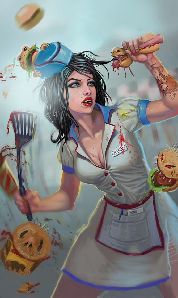 LUCY MINER'S NIGHTMARE DINER