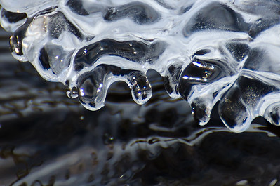Nature Abstract – Ice and Water