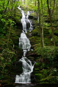 Buttermilk Falls After a Spring Rain