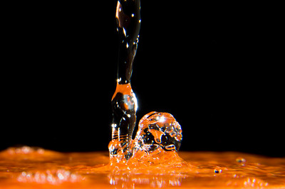 Water Splash Orange