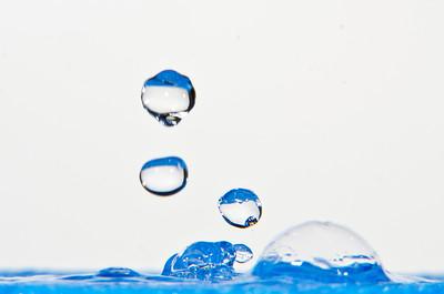 Water Splash Blue
