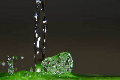 Water Splash Green