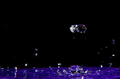 Water Splash Purple