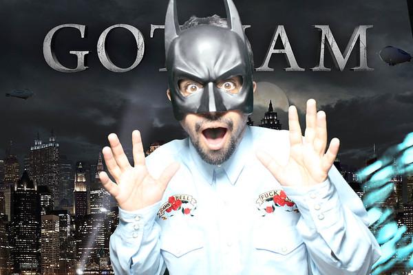 Wix.com and Flok's Hoilday Party ( Batman - Green Screen)
