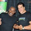 Ernie Hudson (Ghostbusters) and Lou Ferrigno, Hulk