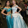 Princess Jasmine and Cinderella