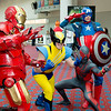 Iron Man, Wolverine, Scarlet Spider, and Captain America