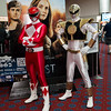 Red Ranger and White Ranger