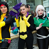 Dani Moonstar, Shadowcat, Rogue, and Lockheed