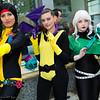 Dani Moonstar, Shadowcat, Rogue, and Lockheed