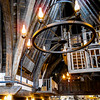 Three Broomsticks Inn Interior