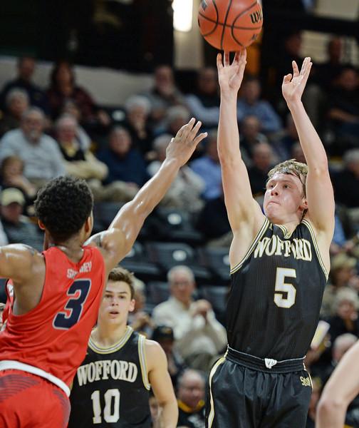 Wofford vs Samford Basketball