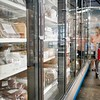 A woman shops in the freezer section at Wohrle's Foods in Pittsfield.<br /> Wednesday, July 28, 2021. BEN GARVER — THE BERKSHIRE EAGLE