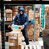 The warehouse at Wohrle's Foods in Pittsfield has a vast freezer and requires workers to dress in their winter best.<br /> Wednesday, July 28, 2021. BEN GARVER — THE BERKSHIRE EAGLE
