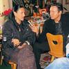 Przeprowadzam wywiad z Kayah, Zakopane 2006r u Ciotki Bułeckuli<br /> Wojciech Dorula