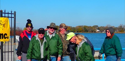 Saturday November 7,2015  This is a collaborated effort from all of Perch America members and the Indiana D.N.R. Special thanks must go out to Tom Keilman of BP, Milan Kruszynski and The Hammond Port Authority, Lake County Fish& Game, Calumet Harbor sport fishing club, Mik-lurch Tackle shop, John Beckman and the Hammond Parks Foundation and all the fisherman who contributed money at the sport shows. Without all their financial support, this stocking would not take place. Also for Dr. Jennifer Strasser of the Indiana Board of animal health who always goes above and beyond to make sure are fish are tested and free of diseases. This was our 18th consecutive year and counting of stocking Wolf Lake. we will be doing it again in 2016. Thanks everyone  Bruce Caruso, Wolf Lake Walleye Stocking Project Manager and Treasurer for Perch America.