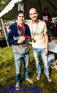 """WRR-AE """"WOLFMAN TRIATHLON (WT) 2016"""" IMAGE BY Robert Obst 3 STARS (USA WI Langlade-White Lake Wolfman Triathlon) - Celebrations Dinner & AWARDS Ceremony at Bear Paw OAR:  CONGRATS for-to  """"WOLFMAN TRIATHLON 2016"""" AWARD WINNER/S """" CLASS-NAME/S? """" BY WT Race Director Karen Steckbauer McCabe & STAFF DSC_7809"""