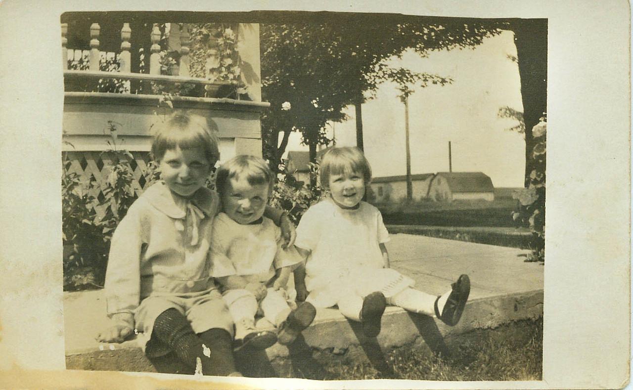 Harold, Winn and Wilma Wolff