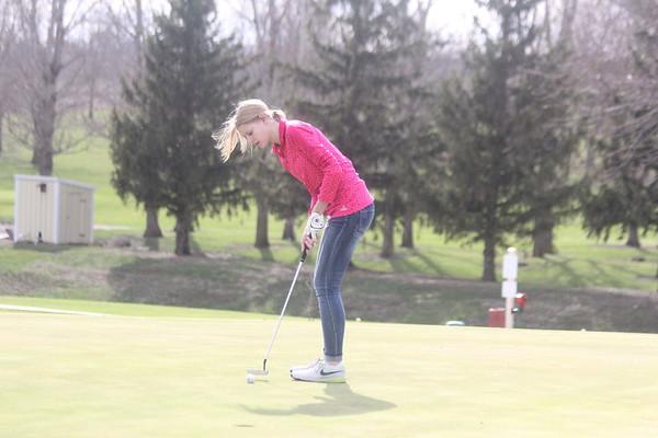 Wolfpack Girls' and Wolfpack Boys' golf vs. MMC-RU 4-4-17