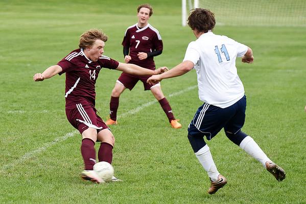 Wolfpack boys' soccer vs. Unity Christian