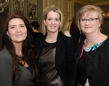 Trudy Cox, Dervla Cunningham and Dora Keane